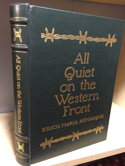 the importance of eriq maria remarques novel all quiet on the western front Erich maria remarque (born erich paul remark 22 june 1898 – 25 september 1970) was a german novelist who created many works about the horrors of war his best known novel all quiet on the.