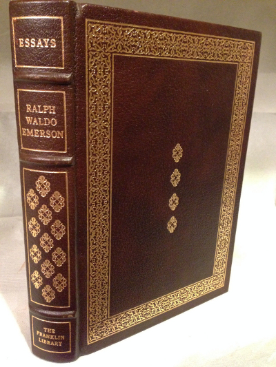 the essays of ralph waldo emerson easton press